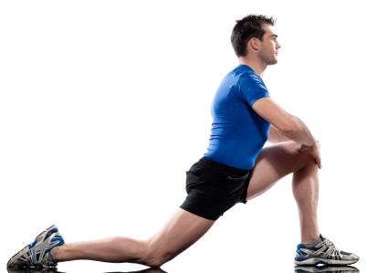 hip flexor calf stress